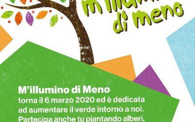 """POMPEI partecipa a  """" M'ILLUMINO DI MENO""""  Campagna a sostegno del risparmio energetico"""