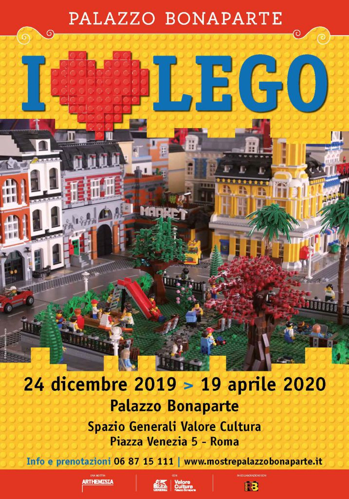 I Love Lego Roma Palazzo Bonaparte
